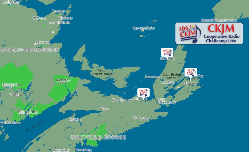 CKJMFM.ca - Map